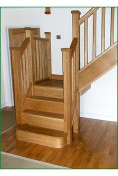 Capel Dywi Oak Staircase