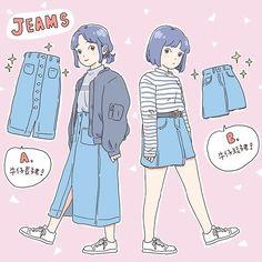 New anime art illustration behance Ideas Cartoon Girl Drawing, Cartoon Drawings, Cute Drawings, Art And Illustration, Character Illustration, Anime Kunst, Anime Art, Character Concept, Character Art