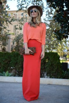 @Emily Schoenfeld Schuman / Cupcakes and Cashmere with the leopard fold over clutch