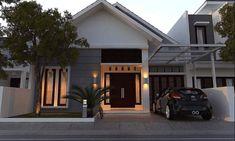√ Prospek Rumah Minimalis Tahun 2020, Anda Wajib Tahu! Wooden House Design, Small House Design, Minimalist House Design, Minimalist Home, Type 45, Home Office Decor, Home Decor, High Quality Wallpapers, Home Design Plans