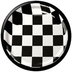 Black and White Checker 9-inch Paper Plates 25 per Pack by Creative Converting. $12.93. 25 per Pack. Manufactured to the Highest Quality Available.. Design is stylish and innovative. Satisfaction Ensured.. Creative Converting is a leading manufacturer and distributor of disposable tableware including high-fashion paper napkins plates cups and tablecovers in a variety of solid colors and designs appropriate for virtually any event.