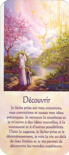 découvrir1 texte Positive Life, Positive Thoughts, Messages Spirituels, Reiki, Mario, Spiritus, Oracle Cards, Osho, Archetypes