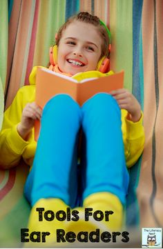 The Benefits of using audiobooks with struggling readers. Tips and tools for struggling readers.