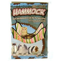 "Super Pet Ferret Hammock - (14""L x 14""W)  $7.36"