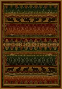 """The Bearwalk Genesis Collection is a plush rug made of 100% olefin pile.   The rugs are available in the following sizes: 1'10"""" x 3', 1'11"""" x 7'4"""", 3'11"""" x 5'3"""", 5'3"""" x 7'6"""", 7'10"""" x 10'6"""" Available at Cabin Creations in Phillips, WI. www.cabincreationswi.com"""