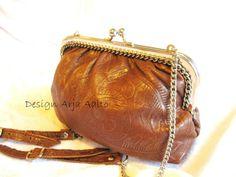 "Leather purse ""Peony"". Book Purse, Peony, Bag Making, Purses And Handbags, Leather Purses, Wallet, Pocket Wallet, Diy Wallet, Purses"