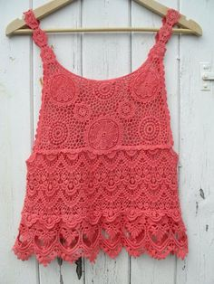 crochet top inspiration only