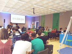 Happening right now at #cosmotehackathon !!! Countdown has started ;) #letsdoit