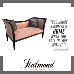Italmond Custom Furniture delivers timeless craftsmanship and an unwavering devotion to flawless finishing and has earned the respect and won the loyalty of the world's most accomplished and extraordinary designers. Fashion Quotes, Design Quotes, Custom Furniture, Outdoor Furniture, Outdoor Decor, Falling In Love, Home Decor, Style