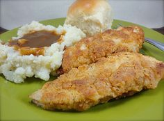 Easier Fried Chicken (from America's Test Kitchen) - this definitely sounds like it's worth a try!