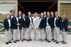 Groomsmen, J. Crew - Austin Wedding http://caratsandcake.com/elizabethandtaylor