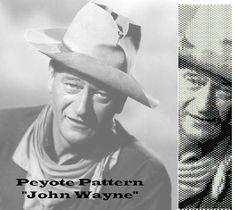 Peyote pattern  for bracelet cuff  John Wayne di LePCCdiMeri, €2.10