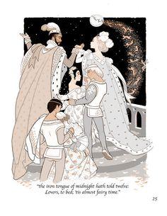 The Twelve Dancing Princesses, Sheilah Beckett Inspiration Art, Art Inspo, Character Inspiration, Art And Illustration, Princess Illustration, Ligne Claire, Fairytale Art, Art Academy, You Draw