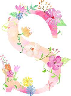 Monogram Wallpaper, Alphabet Wallpaper, Name Wallpaper, Cute Wallpaper Backgrounds, Flower Wallpaper, Cute Wallpapers, Wallpaper Iphone Cute, Alphabet Letters Design, Flower Alphabet