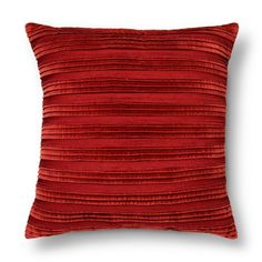 Liven up your home with the Pleated Textured Toss Pillow from Threshold. This pillow will give any room a bit of oomph and add a dose of sophisticated style. It has a pleated cover and is specially crafted for comfort and style. Toss this on your sofa, bed or favorite vintage chair for a look that's effortlessly chic.