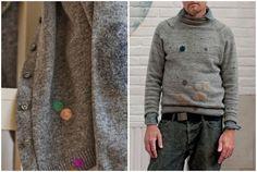 Idee furbe: come rattoppare i buchi nei maglioni con il Woolfiller | Un'Idea Nelle Mani ... ricicla, riusa, riadatta, ricrea, inventa