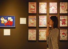 Hello Kitty exhibition