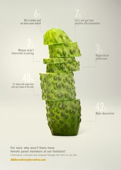 Printwerbung / Advertising - Inspiration Proximity Madrid: Cucumbers and Melons, 5 Data Visualization Examples, Information Visualization, Data Visualisation, Plakat Design, Guerilla Marketing, Madrid, Information Graphics, Creative Advertising, Grafik Design