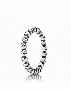 PANDORA Ring - Sterling Silver Heart | Bloomingdale's- perfect thumb ring :)