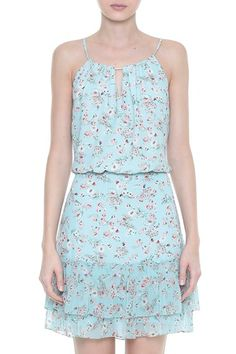 Vestido Crepe Floral Lara Simple Outfits, Simple Dresses, Trendy Outfits, Casual Dresses, Summer Dresses, Girls Dresses, Frock Fashion, Fashion Dresses, Chic Dress