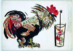 1945 martini-gold-collection-bozzetto-gallo-by-armando-testa_resize