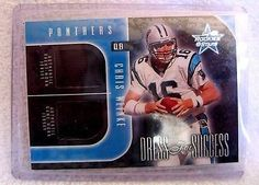 Chris Weinke RC 2002 Rookies&Stars Dress for Success Dual Patch#/400-Panthers