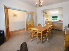 family holidays with a spacious kitchen dining room mean the whole family can get together at mealtimes after a busy day on the beach