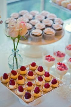 Style Me Pretty | Gallery Flowers at desert table