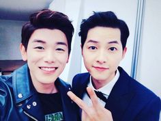Eric Nam and Song Joong Ki - 2016 SIA