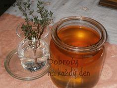 Recept Sirup proti kašli z tymiánu - Naše Dobroty na každý den | Recepty online Candle Jars, Candles, Candy, Candle Sticks, Candle