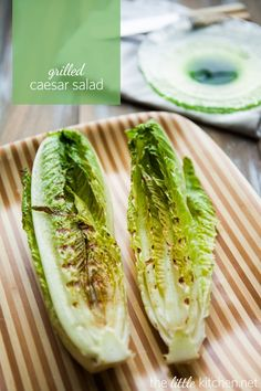 I will try this next week - Will let you know how it goes with a SNAP = Grilled Caesar Salad - Lighten-up your grilling routine with this delicious grilled caesar salad from Grilled Caesar Salad Recipe, Salad Recipes, Summer Recipes, Great Recipes, Favorite Recipes, Grilling Recipes, Cooking Recipes, Healthy Recipes, Grilled Romaine