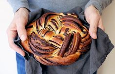 Learn three different techniques to shape babka, from a simple and traditional twist to an intricately braided knot.
