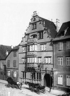 Maison des Têtes Colmar / Alsace / France