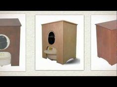 Concealer Cabinet for Litter Robot, Cherry - http://petproduct.reviewsbrand.com/concealer-cabinet-for-litter-robot-cherry.html