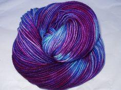NORTHERN LIGHTS  merino/nylon yarn extra by alltheprettyfibers