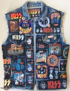 Kiss vest | TShirtSlayer TShirt and BattleJacket Gallery