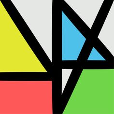 """Music Complete"" by New Order, Sleeve Double Vinyl Album/Cd, 'Mute' Records (UK), - Cover Album Design by Peter Saville (b. Peter Saville, Iggy Pop, Lp Cover, Cover Art, Vinyl Cover, New Order Album Covers, Musik Illustration, Digital Illustration, Color Schemes"