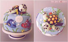 Le monde de Némo / Finding Nemo cake