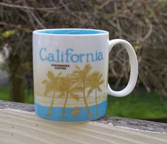Starbucks Coffee Company California Collector Series 16oz 2009 Mug   | eBay