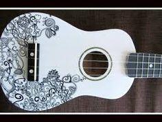 Resultado de imagem para decorando o ukulele