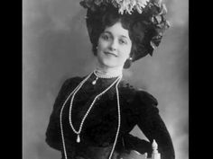 """The World's Most Beautiful Woman"" /  Soprano  Lina Cavalieri  ~  Mari, ..."