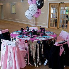 1000 images about theme party ideas on pinterest rock for 1950s party decoration ideas