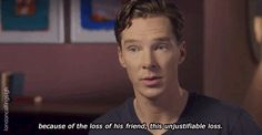 "londoncallingsigh: ""- Benedict on Alan Turing's love and loss of Christopher Morcom (video). """