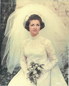 Vintage Wedding Photos, Vintage Weddings, Wedding Pictures, Vintage Dress Patterns, Vintage Dresses, Princess Grace Kelly, Here Comes The Bride, Funeral, Marie