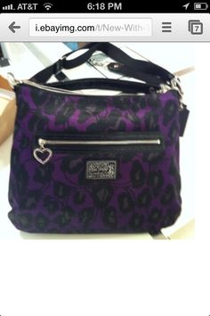 New purse! Coach Daisy Ocelot! Love for 1/3 retail price!