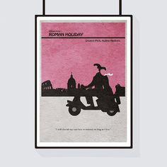 Roman Holiday Minimalist Alternative Movie par CelluloidJunkie
