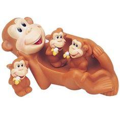 Monkey Family Bath Toy – Floating Fun! « Game Searches