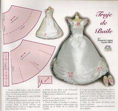 Algomenudito: Patterns for a dress