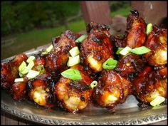 Caramelized Chicken Wings. They need some more zing, going to try some red pepper flakes.
