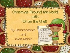 Christmas Around the World with Elf on the Shelf